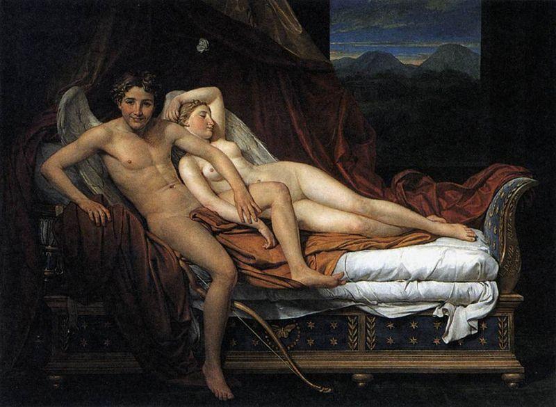Cupidon_et_Psyché- Jaques Louis David
